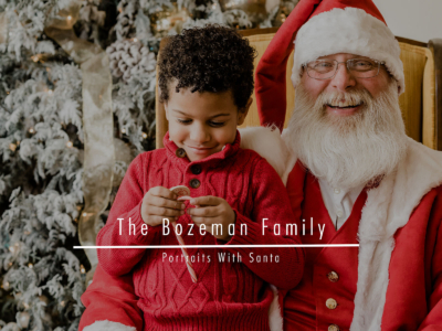The Bozeman Family – Portraits With Santa
