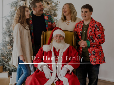 The Fleming Family – Portraits With Santa