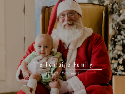 The Fontaine Family – Portraits With Santa