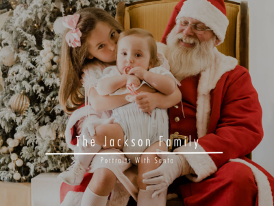 The Jackson Family – Portraits With Santa
