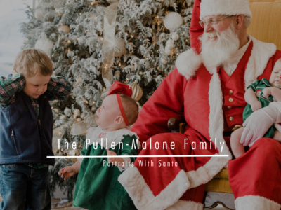 Malone/Pullen Family – Portraits With Santa