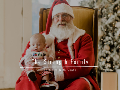 The Strength Family – Portraits With Santa